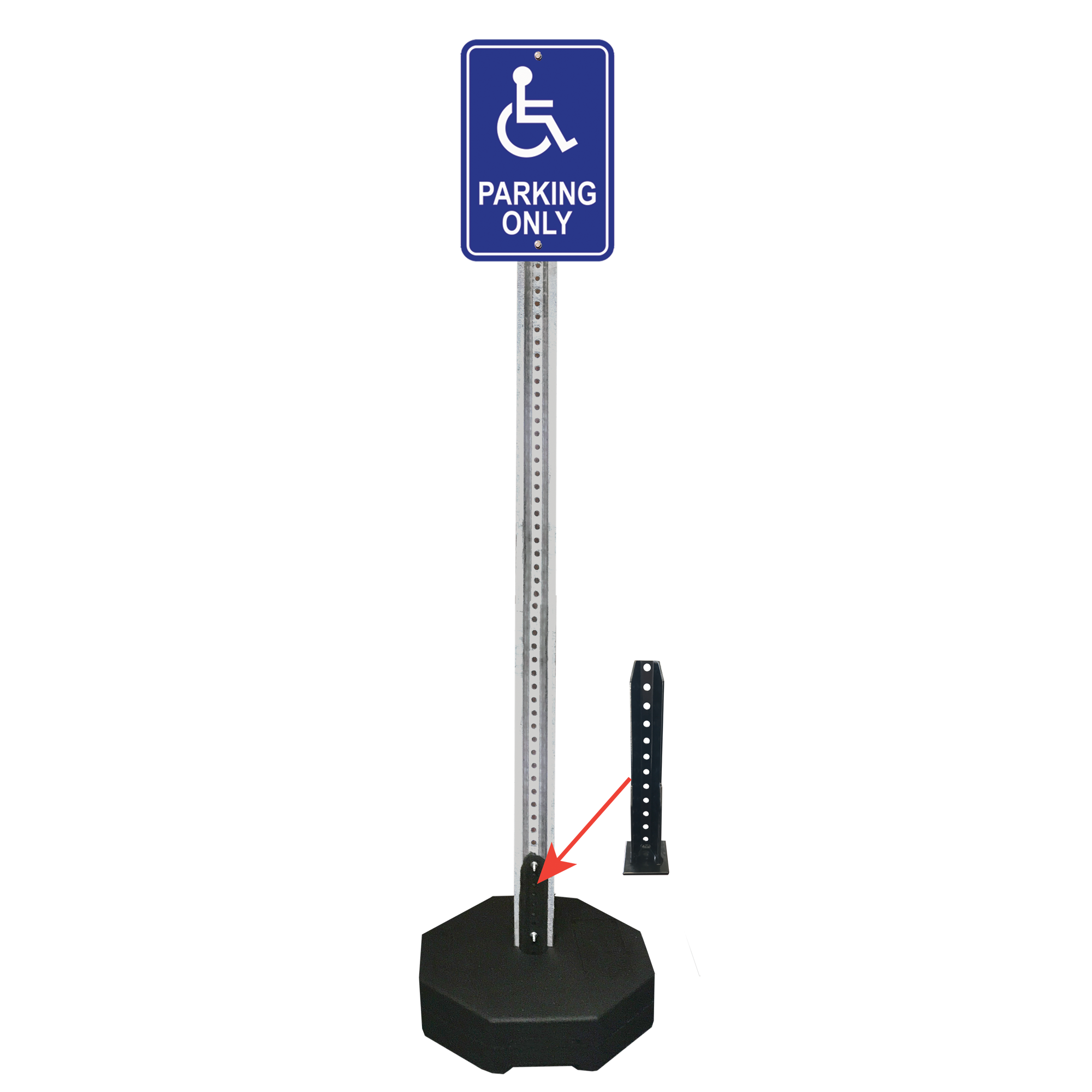 portable sign posts