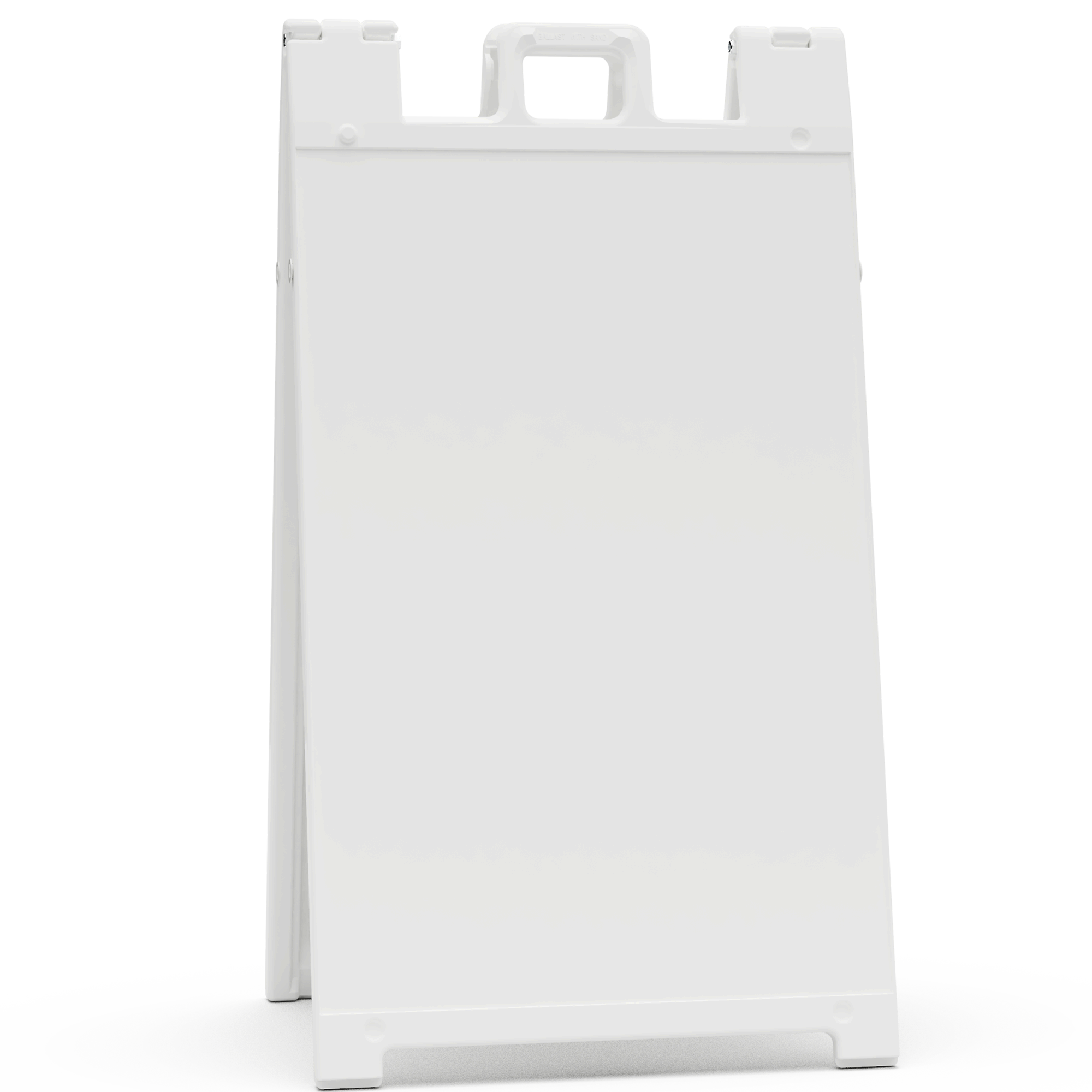 Signicade White Sign Stand