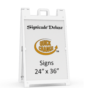 Signicade Deluxe Sign Frame