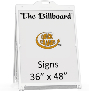Billboard sign